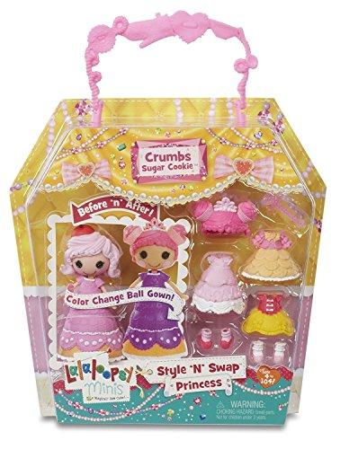Lalaloopsy Mini Stil 'n' Swap Prinzessin Krümel Puppe (Lalaloopsy Puppen Neue)
