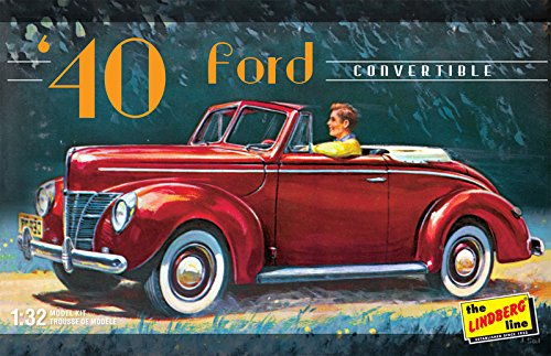 Lindberg Models Echelle 1 : 32 modèle 1940 Ford Convertible Kit