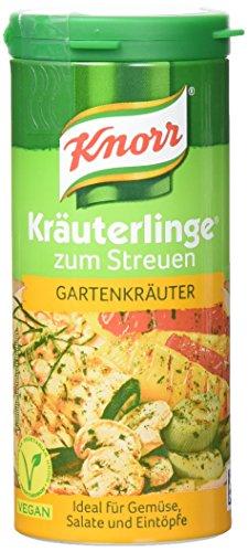 Knorr Kräuterlinge Gartenkräuter, Streuer, 4er Pack (4 x 60 g) (Französisch-kraut-salat-dressing)