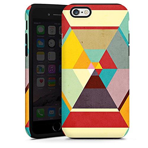 Apple iPhone 4 Housse Étui Silicone Coque Protection Motif Motif couleurs Cas Tough terne