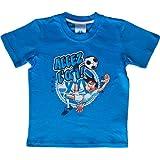 T-shirt OM Nino - Collection officielle OLYMPIQUE DE MARSEILLE - Football club Ligue 1 - Taille enfant garçon
