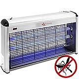 PrimeMatik - Lámpara antiinsectos voladores de Insectos eléctrico antimosquitos 40 W