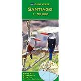 Cabo Verde: Santiago 1 : 50000 (Carte de randonnée et de loisirs du Cap-Vert)