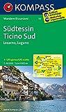 Südtessin - Ticino Sud - Locarno - Lugano: Wanderkarte. GPS-genau. 1:40000: Wandelkaart 1:40 000 (KOMPASS-Wanderkarten, Band 111)