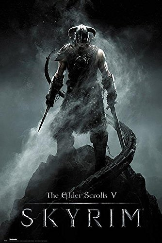 Close Up Skyrim Poster The Elder Scrolls V (61cm x 91,5cm) + Ü-Poster