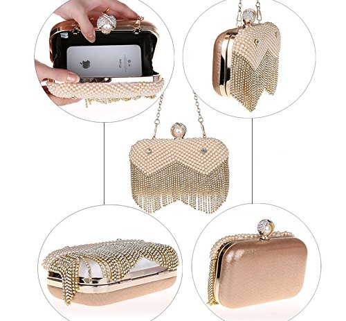 paquet de perles Mme Mini/Diamant sac tassel/banquet de haute qualité/Mode sac de soirée/package Bridal-B B