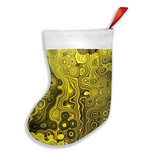 ellow, Black, Gold Brown Christmas Holiday Stockings Family Parties, Schools, Classrooms, Clubs, Offices, Employees ()