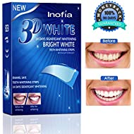 Teeth Whitestrips Inofia Update Teeth Whitening Strips Professional Remover of Teeth Stain Enamel Safe