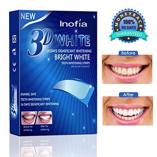 Inofia - 28 strisce sbiancantiper denti –...