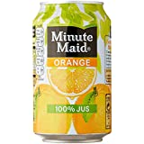 Minute Maid cannettes Orange 33 cl Pack de 6 - Lot de 2