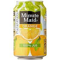 Minute Maid cannettes Orange 33 cl Pack de 6 - Lot de 2