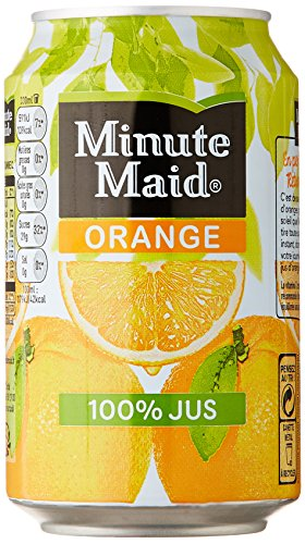 Minute Maid Orange Canettes Jus ...