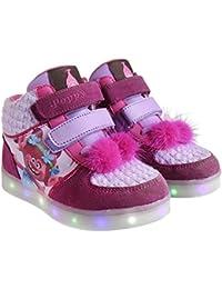 Zapatillas botas deportivas con luz Trolls Poppy-T.26