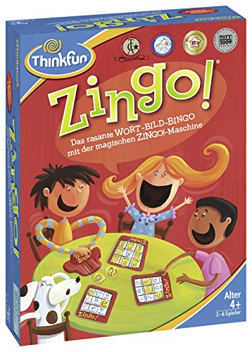 Ravensburger 76351 ThinkFun Zingo! Spiel-Smart Game
