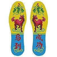 Handgestickt-Einlegesohlen im chinesischen Stil schweißabsorbierende Einlegesohlen, Pferd preisvergleich bei billige-tabletten.eu