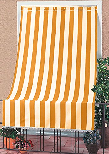 Tessuti Per Tende Da Esterno.Tenda Da Sole Tessuto Resistente Per Esterno Con Anelli