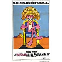 La venganza de los de la pantera rosa Póster de película en 11 x 17 - 28 cm x 44 cm Peter Sellers Herbert Dyan Lom diseño del escudo del Arsenal Robert Webber Burt Kwouk Robert Loggia