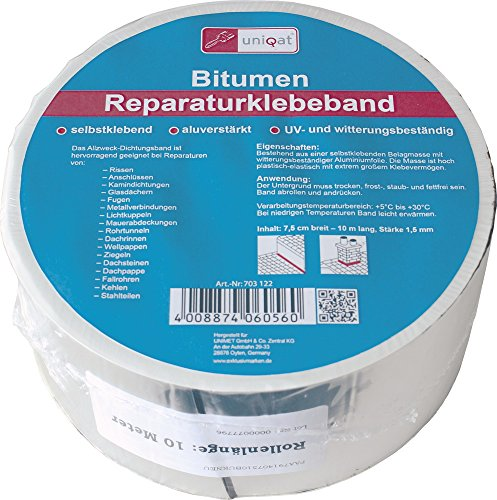 Uniqat Alu- Reparaturklebeband 10mx75mm