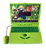 #7: Famous Quality 22 Activities & Games Fun Laptop Notebook Computer Toy for Kids