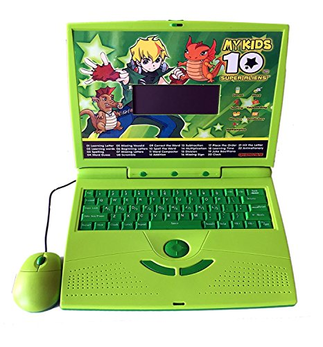 Famous Quality 22 Activities & Games Fun Laptop Notebook Computer Toy for Kids