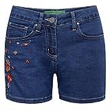 Country Line Kurze Jeansshort Liliane in Blau, Größe:40, Farbe:Blau