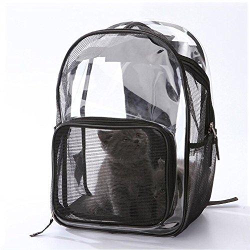DPPD Pet Cat Tragbare Rucksacktrage Transparente Pet Travel Space Capsule Luftblasenrucksack Transparente atmungsaktive Handtasche Sie können jederzeit mit Ihrem Haustier ausgehen