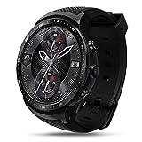 Fashion smartwatch Zeblaze Thor PRO 3G GPS WiFi Smartwatch Android 5.1 MTK6580 Quad Core Fino a 1.3GHz 1GB + 16GB 2.0 MP Monitor della frequenza cardiaca della Fotocamera Smart Watch (Nero)