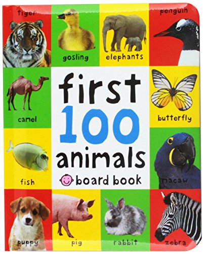 First 100 Animals por Roger Priddy