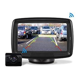 AUTO-VOX Rückfahrkamera Drahtlos Set mit 4.3