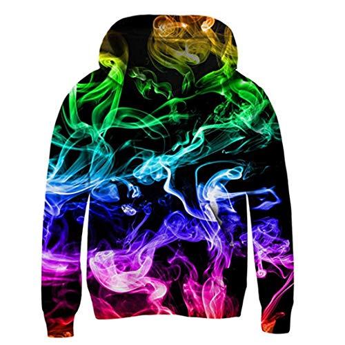 AIDEAONE Hoodie Jungen Galaxy Pullover Hoodies mit Taschen Pullover ()