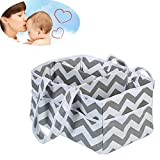 Baby Windel Caddy Wickelkorb für Babywindeln Multifunktionsartikel für Mutter und Kind Aufbewahrungsbox,B,13 * 9 * 7Inch