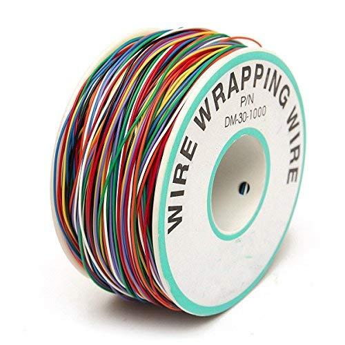 Wrapping Cable de prueba, elegiant Wrapping prueba de cable alambre de cobre...
