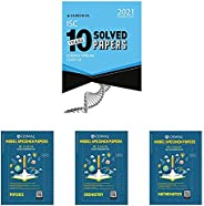 Solved Papers + Model Specimen Paper for ISC Class 12- Science (Set of 4 Books)(New Edition)