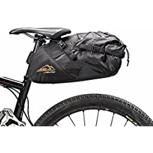 BSA Gear Borsa sottosella Big Saddle Bag 18L nero (Borse Bike Packing) / Roll up Big Saddle Bag bikepacking 18L black (BikePacking Bags)