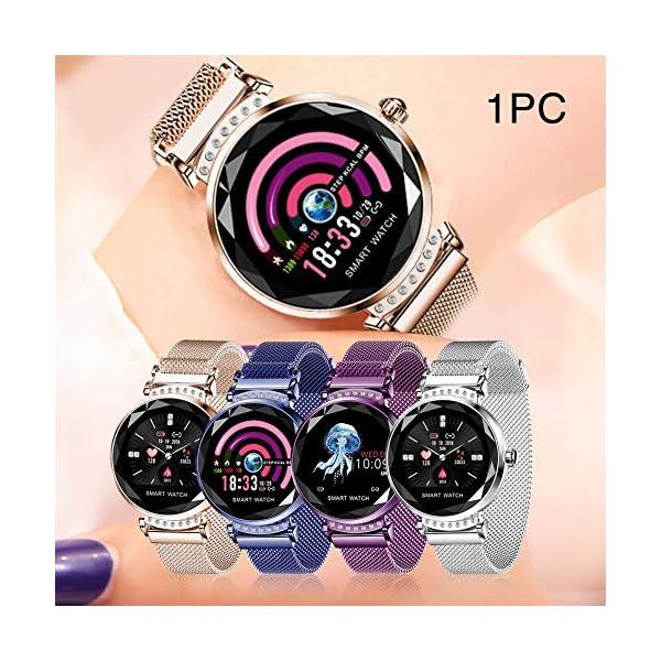 Smart Watch Heart Rate Monitor Fitness Tracker Watch Waterproof Smart Watch Bracelet for Women 6