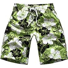 Niseng Casual Impresos Boardshorts Hombres Loose Traje De Bano Surf Pantalonetas De Playa