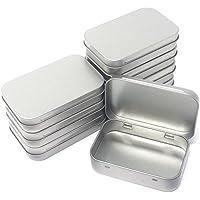 Metall Rechteckig leer aufklappbaren Dosen Box Container Mini Portable Box Aufbewahrung kleiner-Kit, Home Organizer... preisvergleich bei billige-tabletten.eu