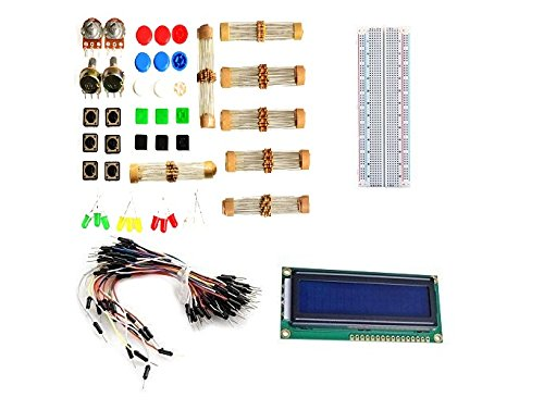 Electronic Parts Pack-KIT for Arduino Komponente Widerst?nde Schalterknopf Kits Kit Breadboard