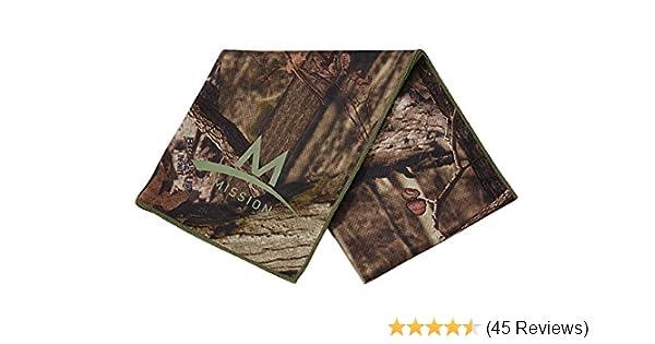 Mossy Oak Large Mission Enduracool Techknit Cooling Towel