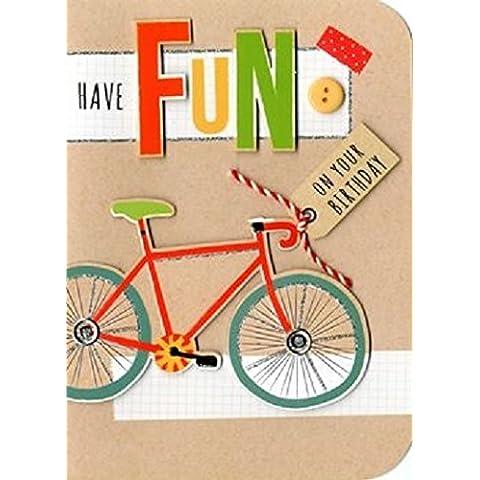 Have Fun Bicicletta compleanno scheda