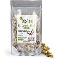 BioFeel - Bio Ceylon Zimt Kapseln, 120 Stk, 500mg