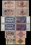 *** 20,50,100,100,1000,1000 Reichsbanknoten 1910 - P40-P41-P42-P43-P44-P45 - Reproduktion ***