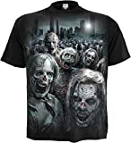 Spiral - Men - ZOMBIE HORDE - Walking Dead T-Shirt Black