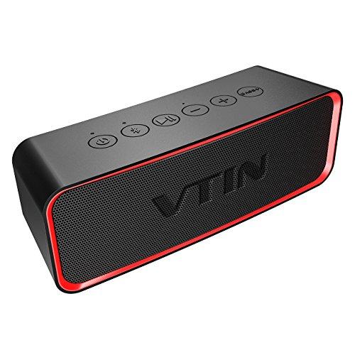 VicTsing VTIN R2 Altavoz Bluetooth, Altavoz portátil IPX6 a Prueba de Agua, 14W estéreo HD, 20 Horas de Vida útil, Adecuado para Todas Las Actividades al Aire Libre