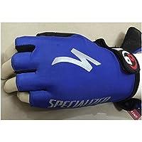 XeibD Ciclismo Gym Gloves Half Sports Gloves Entrenamiento Ejercicio Entrenamiento Fitness Guantes para Hombre Mujer (L)