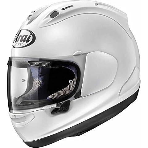 2016Arai RX-7V Plain Metallo Bianco Moto Casco