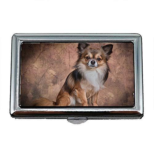 Zigarettenetui/Box, Chihuahua Säugetier Hund Tier niedlich Pelz klein, Visitenkartenetui Visitenkartenetui - Niedliche Kostüm Für Chihuahuas