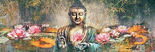 REINDERS Lotus Buddha - Poster 158 x 53 cm