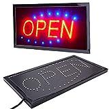 Gadget Zone UK LED Schild Open Shop Fenster Display Beleuchtet Blinkende LED Super Hell