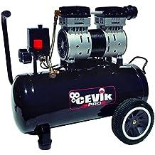 Cevik CA-PRO24SILENT - Compresor silencioso, color negro